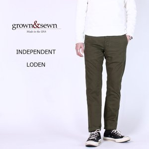 GROWN&SEWN (グロウン&ソーン)  INDEPENDENT - LODEN|explorer