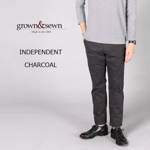 GROWN&SEWN (グロウン&ソーン)  INDEPENDENT - CHARCOAL|explorer