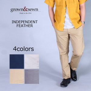 GROWN&SEWN (グロウン&ソーン)  INDEPENDENT-FEATHER / 4colors|explorer