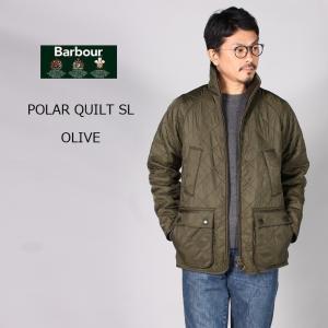 BARBOUR (バブァー)  POLAR QUILT SL - OLIVE キルティングジャケット メンズ|explorer