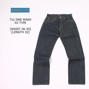 RESOLUTE (リゾルト)  711 ONE WASH (XX TYPE) - LENGTH 32  [WAIST26-34] explorer