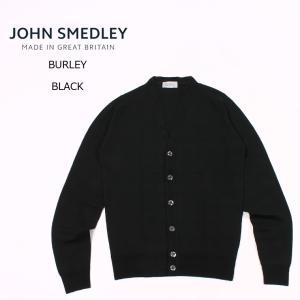 【期間限定値下げ】JOHN SMEDLEY (ジョンスメドレー)  BURLEY - BLACK カ...