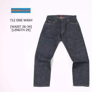 RESOLUTE (リゾルト)  712 ONE WASH - LENGTH 29|explorer