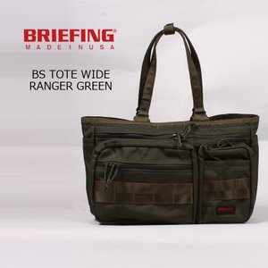 BRIEFING (ブリーフィング)  BS TOTE WIDE - RANGER GREEN|explorer