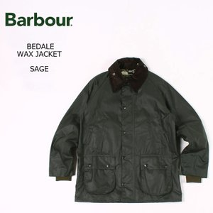 BARBOUR バブアー  BEDALE WAX JACKET - SAGE ビデイル オリジナル ...