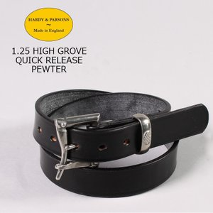 HARDY & PARSONS(ハーディアンドパーソンズ)  1.25 HIGH GROVE QUICK RELEASE-PEWTER / BLACK|explorer