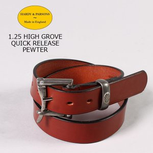 HARDY & PARSONS(ハーディアンドパーソンズ)  1.25 HIGH GROVE QUICK RELEASE-PEWTER / NEW_MARKET_TAN|explorer