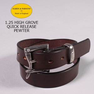 HARDY & PARSONS(ハーディアンドパーソンズ)  1.25 HIGH GROVE QUICK RELEASE-PEWTER / CHESTNUT|explorer