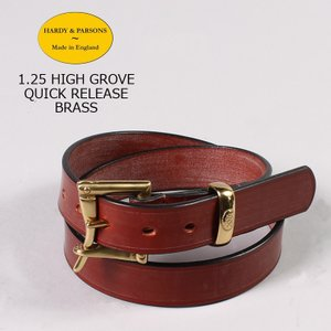HARDY & PARSONS(ハーディアンドパーソンズ)  1.25 HIGH GROVE QUICK RELEASE-BRASS / NEW_MARKET_TAN|explorer