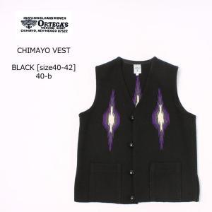 ORTEGA オルテガ  CHIMAYO VEST - BLACK [size40-42]|explorer
