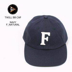 FELCO (フェルコ)  TWILL BB CAP/ NAVY_F_NATURAL|explorer