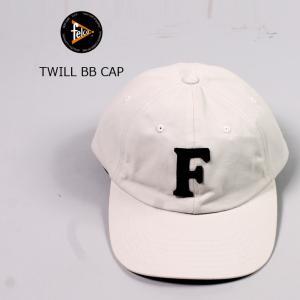FELCO (フェルコ)  TWILL BB CAP - STONE / F NAVY|explorer
