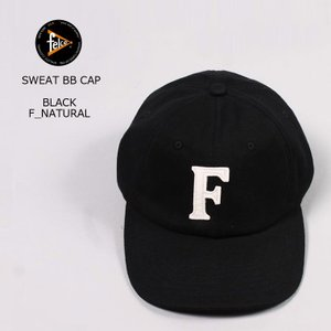 FELCO (フェルコ)  SWEAT BB CAP - BLACK / F NATURAL|explorer