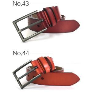 メール便送料無料 メンズ ベルト 革 ビジネス カジュアル  デザイン ブラック ブラウン 牛革 紳士用 レザーベルト 紳士|expop|02