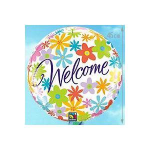 バルーン電報 AddバルーンサービスWelcomeFlower_60788 誕生日バルーン バルーンギフト バルーン風船【アットマート】|express