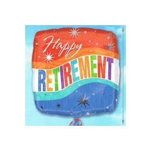 バルーン電報 AddバルーンHappyRetirement_17961 誕生日バルーン バルーンギフト バルーン風船【アットマート】|express