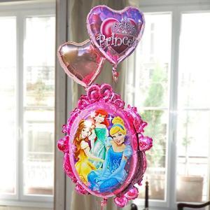 バルーン電報 ディズニー プリンセスフレーム 27149  風船 結婚式 誕生日 発表会 入学祝い 女の子 バルーンギフト  即日 翌日 ひな祭り 誕生日バルーン|express