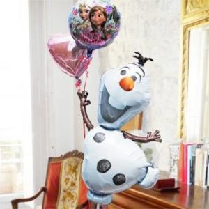 バルーン 誕生日 ディズニー キャラ電 オラフ Frozen 28316 ギフト 結婚式 電報 アナと雪の女王 結婚祝い 卒業祝い 卒園 祝い 誕生日プレゼント 子供 台紙|express