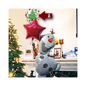 クリスマスプレゼント 【 オラフ 】 Frozen アナと雪の女王 28316 風船 クリスマスバルーン X'mas Christmas 風船|express