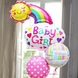 出産祝い 女の子 誕生祝い Baby 【Girl】 ハッピーサン 34054 出産 お祝い express