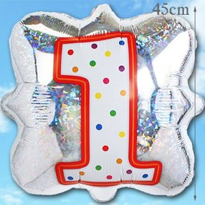 ナンバーバルーン 【フォログラム】 36351 数字 誕生日バルーン ギフト 1歳 2歳 3歳 4歳 5歳|express