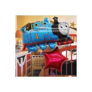 バルーン電報  誕生日 トーマス キャラ電 きかんしゃトーマス _06966 風船 お祝い バースデー  バルーンギフト お祝いバルーン電報|express