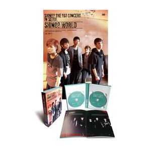 SHINee - The 1st Concert SHINee World  (2DVD + Pho...