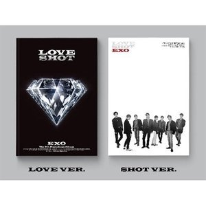 EXO - Love Shot : EXO Vol.5 Repackage CD 韓国盤 バージョン選択可能の画像