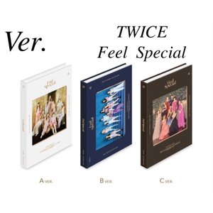 TWICE -  Feel Special 8th Mini Album 韓国盤 CD【Ver.選択...