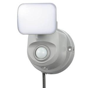 OSE-LS400 LEDセンサーライト(1灯/400lm/コンセント式)OHM オーム電機|exsight-security
