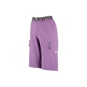 MIV0789-5985-S_Ld Seigne Stretch short [Deep Lilac] S(ユーロサイズ):セーニュストレッチ2_Millet(ミレー)|exsight-security