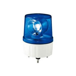 ALN-100B_デジタル回転灯:ALN型 電球回転灯 スタンダードタイプ AC100V 青 (径170mm)_シュナイダー(アローライト) exsight-security