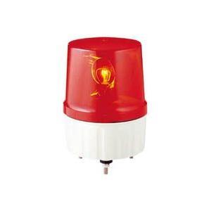 ALN-100R_デジタル回転灯:ALN型 電球回転灯 スタンダードタイプ AC100V 赤 (径170mm)_シュナイダー(アローライト) exsight-security