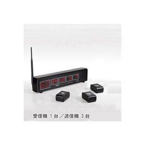 EWJS-TSET_ELPAワイヤレスコール受信機・送信機3台セット_ELPA(エルパ・朝日電器)|exsight-security