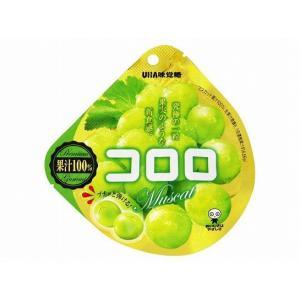 UHA 味覚糖 コロロ マスカット グミ 40g