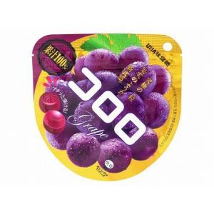 UHA味覚糖 コロロ グレープ グミ 40g