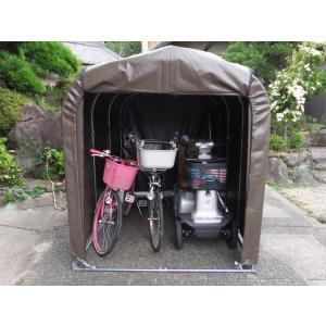 ・自転車はもちろん、ミニバイクやシルバーカーまで余裕の収納(自転車2台分収納) ・農具や工具、冬用タ...
