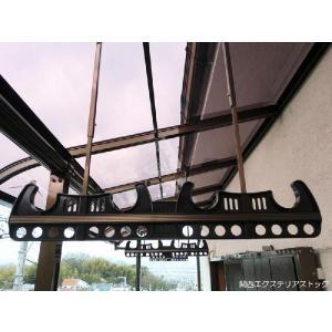 竿かけアルミ製2本1組 格安 DIY 送料無料|exterior-stok