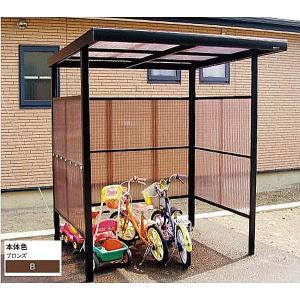 波板自転車置場 「プチヤード」 波板別 送料無料 DIY|exterior-stok