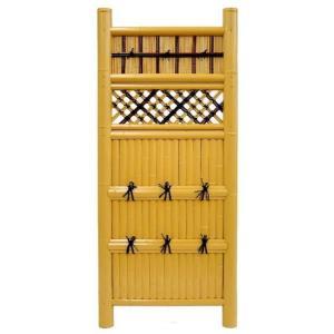 袖垣 建仁寺垣 W900mm H1700mm 和 人工竹|exterior-stok