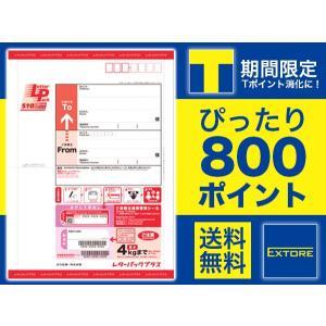 Tポイント期間限定 800ポイント ピッタリ消化 レターパックプラス 赤 額面[510円] 送料無料