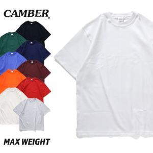 キャンバー 半袖 Tシャツ マックスウェイト 全6色 / CAMBER SHORT SLEEVE T...
