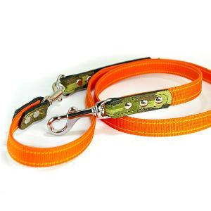 リード 革 PPテープ:2cm幅PP Lead 008(取り外し)【色は革十色以上から、PPテープは7色から、長さもオーダーできる!】|extraheavyy