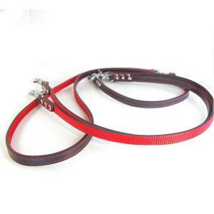 肩がけ 強度 リード 革:2cm幅 EX-Lead 006 ダブル【色は革7色以上から、PPテープは7色から、長さもオーダーできる!】|extraheavyy
