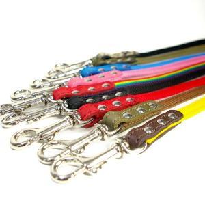 リード 革 PPテープ::PP Lead 005(取り外し)【色は革十色以上から、PPテープは12色から、長さもオーダーできる!】|extraheavyy|03