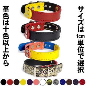 2cm幅の小型犬用革首輪:Small Type G5-FB*色は十色以上から、サイズは1cm単位でオーダー|extraheavyy