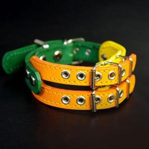 イタグレミニピン用幅広革首輪:Small Type E-004*色は十色以上から、サイズは1cm単位でオーダー|extraheavyy