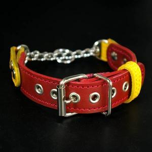 outlet0247:大きめの2.5cm幅の小型犬用ハーフチョーク(頭周り27.5cm)|extraheavyy