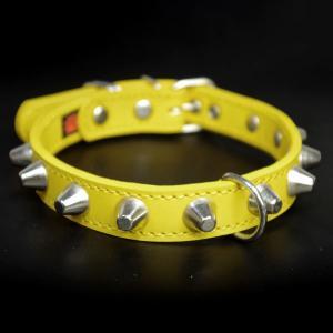 アウトレット0327b:2cm幅の中型犬用革首輪(38cm)|extraheavyy