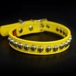 アウトレット0331:2cm幅の中型犬用革首輪(33cm)|extraheavyy